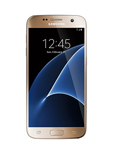 Samsung Galaxy S7 G930F 32GB Factory Unlocked GSM Smartphone International Version (Gold)