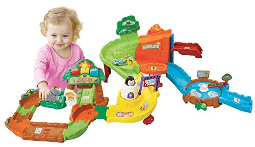 VTech Early Education Toy Go! Go! Smart Animals Zoo Explorers Playset Toys