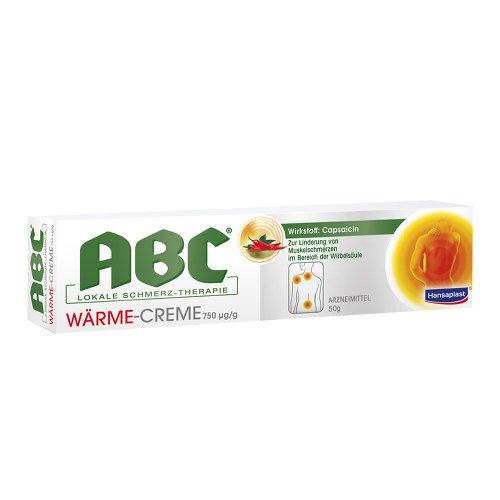 HANSAPLAST med ABC Wärme Creme Capsicum 50 g Creme