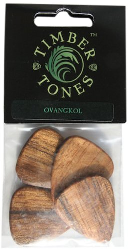 Timber Tones Ovangkol Plectrum (Pack of 4)