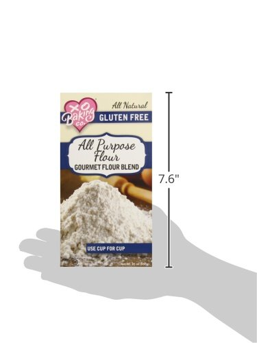 Xo baking co gluten free all purpose flour blend 21 ounce for Atkins cuisine all purpose baking mix where to buy