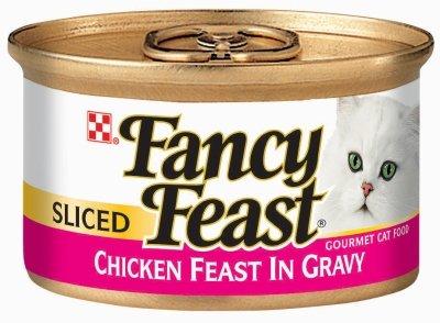 Fancy Feast Sliced Chicken 24/3 Oz