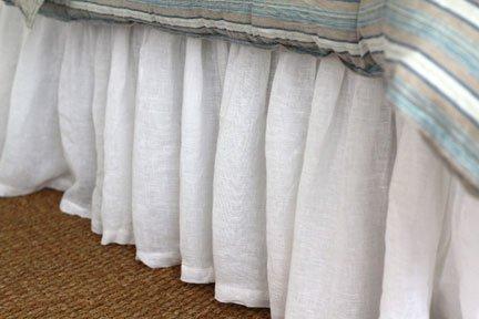 Linen Crib Skirt