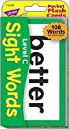 Sight Words Level C Pocket Flash Cards