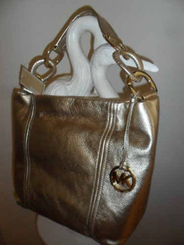 Michael Kors Oversized ID Chain Medium TZ Shoulder Bag