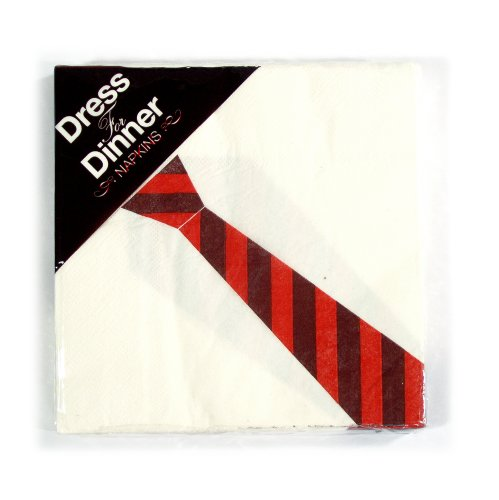 Dress for Dinner Paper Napkins Novelty Napkins, set of 16