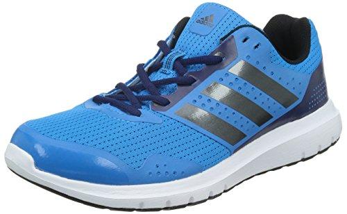 Adidas Duramo 7 M Scarpe da corsa, Uomo, Blu (Solar Blue/Night Met, Midnight Indigo F), 42 2/3 EU