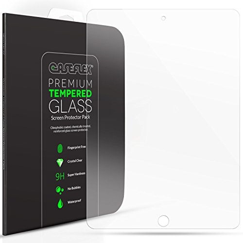 iPad Air Screen Protector Pack Caseflex iPhone Air / Air 2 Tempered Glass [Retina Display Compatible 0.2mm Thickness / 9H Hardness Rating] (Ipad Air 2 Top Rated compare prices)