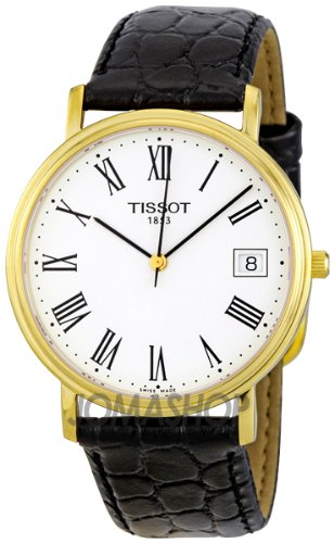 Tissot Men's T52542113 T-Classic Desire Leather Watch