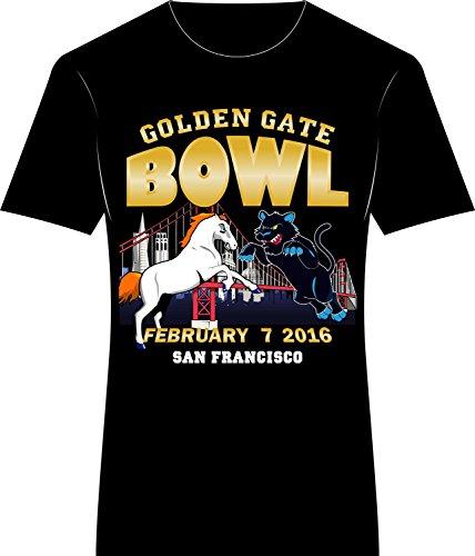 Super Bowl 50 Denver Broncos vs Carolina Panthers T Shirt - Unisex ... 78e720859