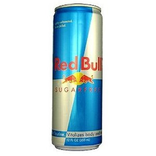 Red Bull Sugar Free, 12-Ounce Cans (Pack of 24)