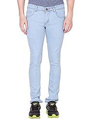 Jollify Men's Light Blue 520 Slim Fit Jeans-