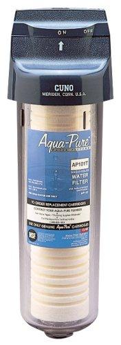 Aqua-Pure AP101T Whole House Transparent Water Filter