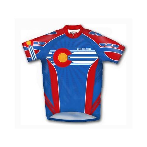 Primal Wear Mens Colorado Original Short Sleeve Cycling Jersey COSTJ20M fdc170ce8