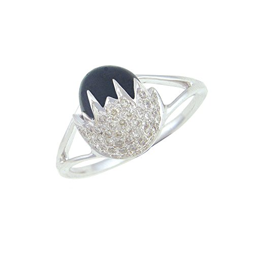 libertini-016-cts-diamonds-2-cts-black-onex-oval-shape-ring-in-14kt-rose-gold-gh-color-pk-clarity