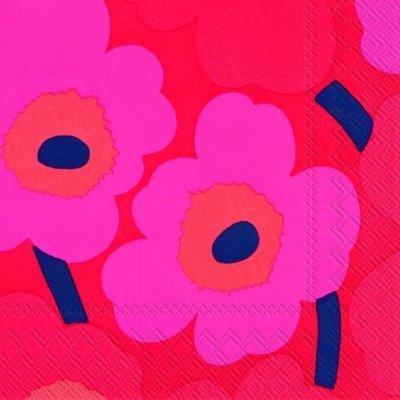 marimekko-unikko-serviettes-de-cocktail-rose-25-x-25-cm