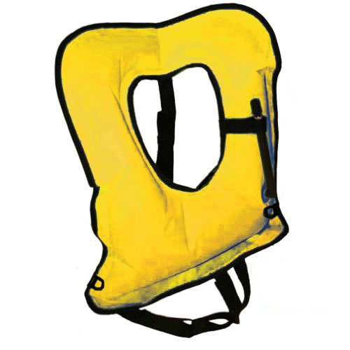 Gold Adult Explorer Snorkel Vest - New Updated Version with D-Rings and Comfort Straps