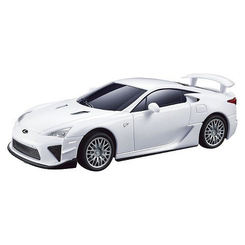Braha Lexus LFA Remote Control Car - White (Car Remote Control Gasoline compare prices)