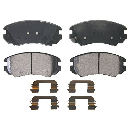 Wagner QuickStop ZD924 Ceramic Disc Pad Set, Front (Wagner Brake Pads And Rotors compare prices)
