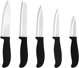 5er Set culinario ceramiPRO Keramikmesser, 5 verschiedene Messer