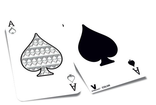 V. Syndicate Ace of Spades Playing Card Herb Grinder Card - 1
