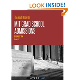 The Best Book On MIT Grad School Admissions