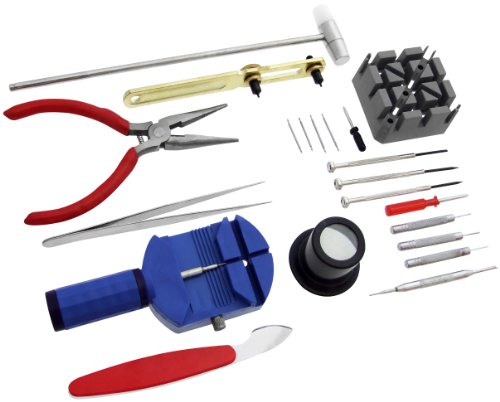 Am-Tech Watch Repair Tool Kit (21 Pieces)