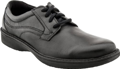 Clarks Men's Wader Pure Oxford,Black Leather,12 W US