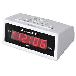 AcuRite 13001 Intelli-Time Digital Alarm Clock