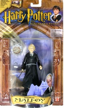 Picture of Toy Rocket Harry Potter Rememberall Malfoy Action Figure (B001RE7X4Y) (Harry Potter Action Figures)