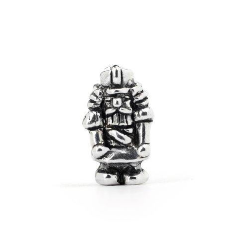 Novobeads Nutcracker Sterling Silver Charm Bead - Fits all major bead bracelets