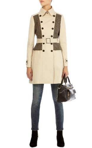 Signature cotton trench coat