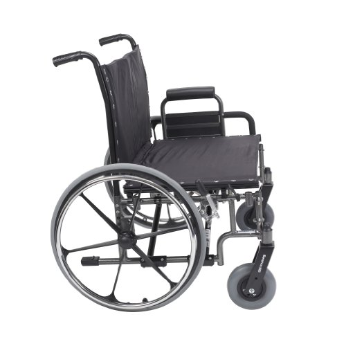 L418DFA-SF - Viper Wheelchair with Flip Back Removable Arms,