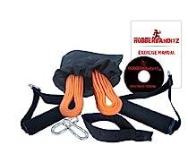 Rubberbanditz Mobile Physical Therapy / Rehabilitation(Rehab) Exercise Band Package Kit