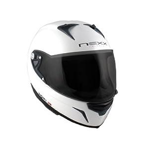 Nexx XR1R Full Face Helmet (White Shiny, X-Small):Amazon:Automotive