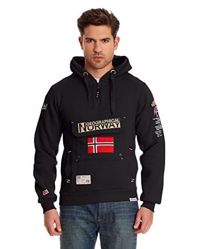 Geographical Norway Sudadera con Cierre Geographic Negro