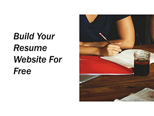 Build Your Resume Website for Free - Season 1