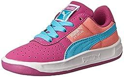 PUMA GV Special Canvas Kids Classic Sneaker (Infant/Toddler/Little Kid/Big Kid) , Vivid Viola/Salmon Rose/Blue Atoll, 11 M US Little Kid