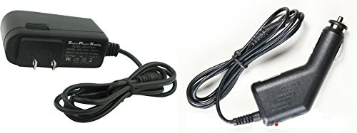 Super Power Supply® AC / DC Adapter Cord 2 in 1 Combo Wall + Car Charger for Bayco Nsr-2300 Nsr-2372 Nsr-2382 Nsr-2392 Nsr-2400 Nsr-2472 Nsr-2482 Nsr-2492 Nsr-9900 Nsr-9912 Nsr-9912dc Nsr-9914 Nsr-9914dc Slr-2134 Slr-2166 Night Stick Worklight LED Flashlight Floodlight Dual-light Barrel Plug