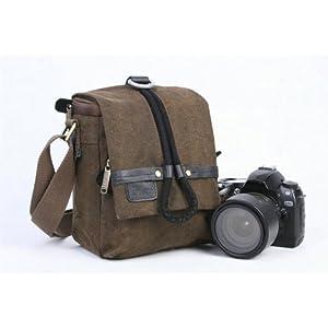 Koolertron Lienzo DSLR SLR Cámara Bolsa de hombro para Sony Canon Nikon Olympus.