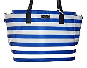 Kate Spade Baby Diaper Bag Tote Island Blue / Cream by KATE SPADE
