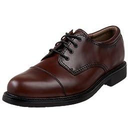 Dockers Men\'s Lace Up Cap Toe Shoes (17 M, Cordovan)