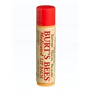 Burt's Bees Burt's Lip Care Medicated Lip Balm with Clove Oil 0.15 oz. tube Lip Balms (Pack of 12)