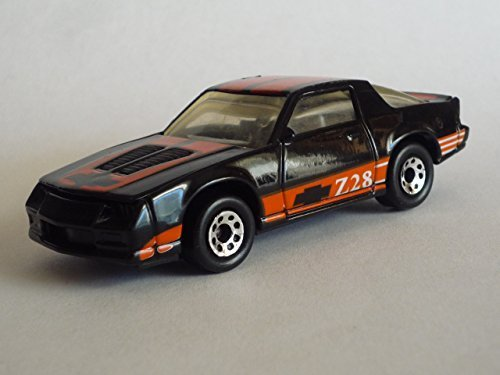 MATCHBOX MB51 1:63 SCALE 1985 BLACK CAMARO IROC-Z 28 BOXED EDITION DIE-CAST