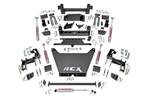 Rough Country - 243.20 - 6-inch Suspension Lift Kit w/ Premium N2.0 Shocks (6 Inch Suspension Lift Kit compare prices)