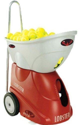 Lobster Sports Elite Freedom Portable Tennis Ball Machine (21x14x 20- Inch)