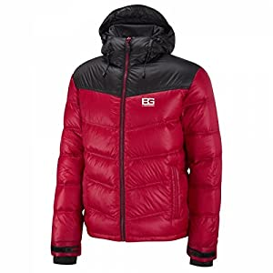 Bear Grylls Men's Arctic Down Jacket - Bear Red/Black, Small