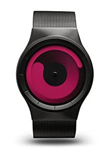 Ziiiro Z0002WB2 Unisex Mercury Black Magenta Watch