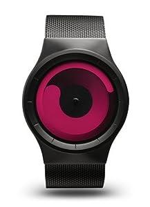 Ziiiro Z0002WB2 Unisex Mercury Black Magenta Watch