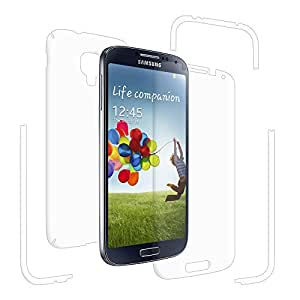 AMZERkristal Clear Full Body Front and Back Screen Protector for Samsung GALAXY S4 GT-I9500